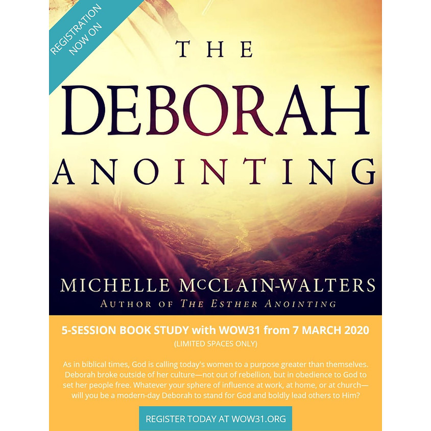[SG] Deborah's Anointing Book Study