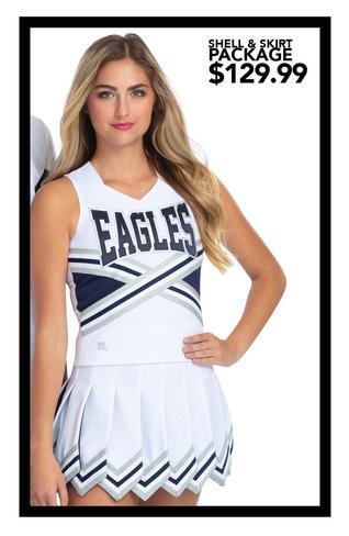 $129.99 Shell & Gladiator Skirt