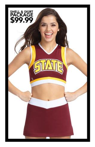 TeamFlex $99.99 Crop Top & Skirt