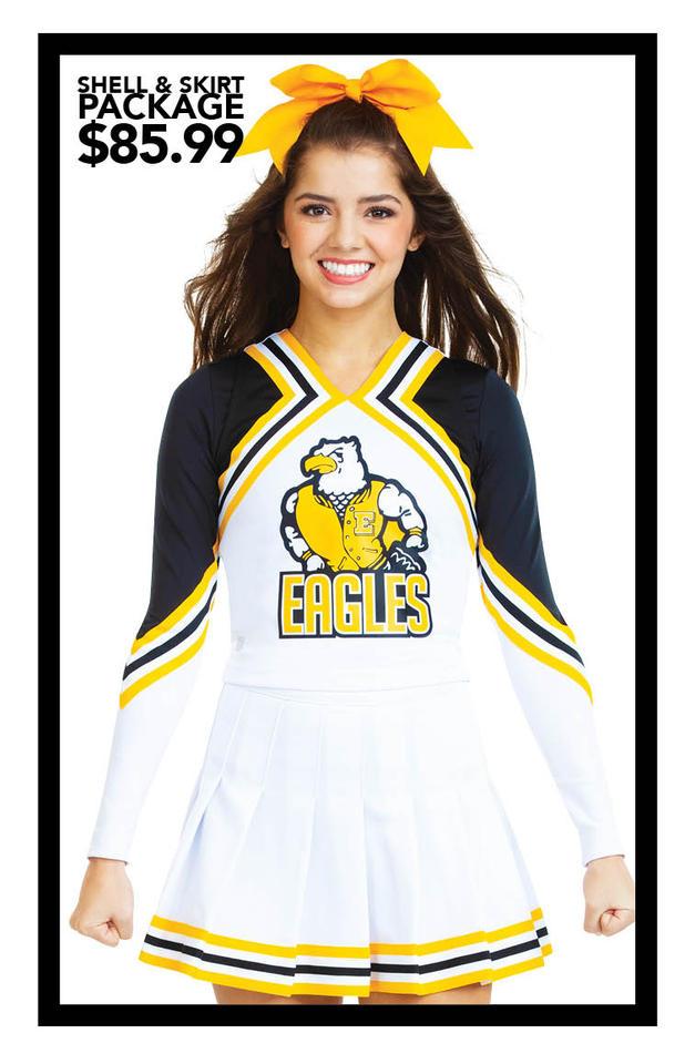 $85.99 Shell & Skirt