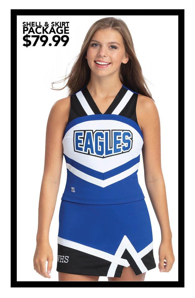 $79.99 Shell & Skirt