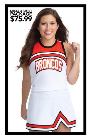 $75.99 Shell & Skirt