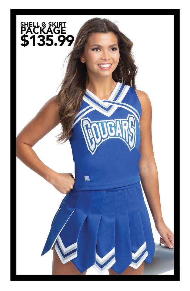 $135.99 Shell & Gladiator Skirt