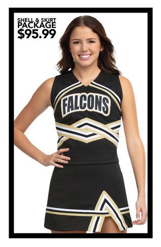 $95.99 Shell & Skirt