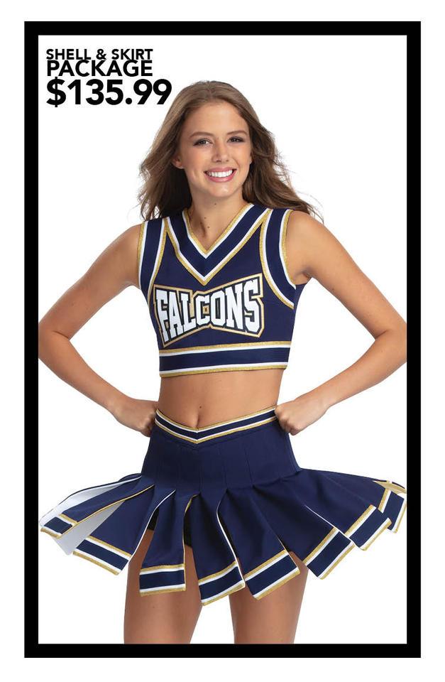 $135.99 Crop Top & Flyaway Skirt