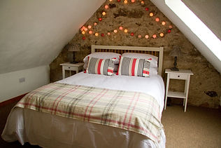Bedroom - self-catering holiday bothy Cromarty