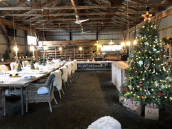 Christmas in the Event Barn