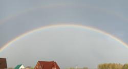 радуга над Торбеевским озером