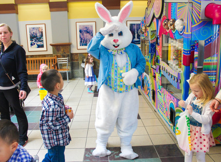 Book your Easter Bunny Visit today!