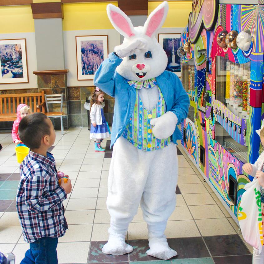 Hire Easter Bunny Rabbit in Portland Ore