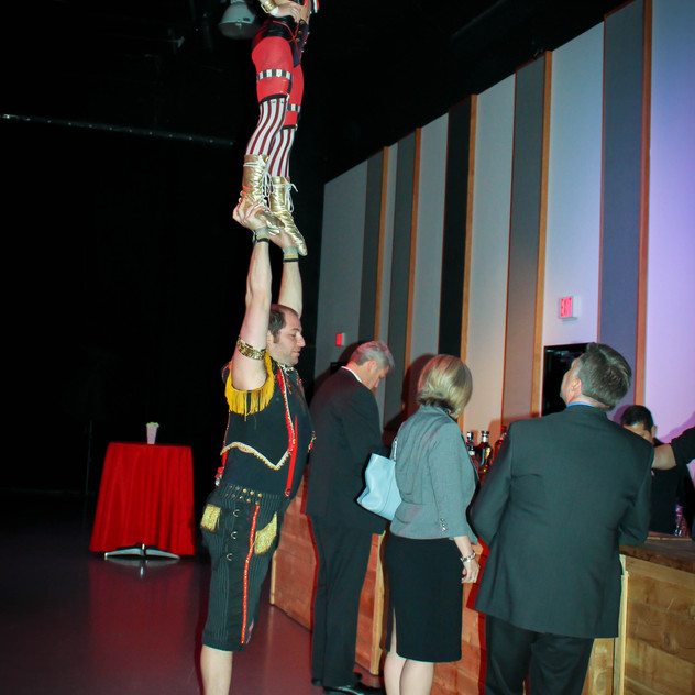 stilt walkers and circus performers with Earth Fairy Entertainment in Portland Oregon, juggler, magician, acro