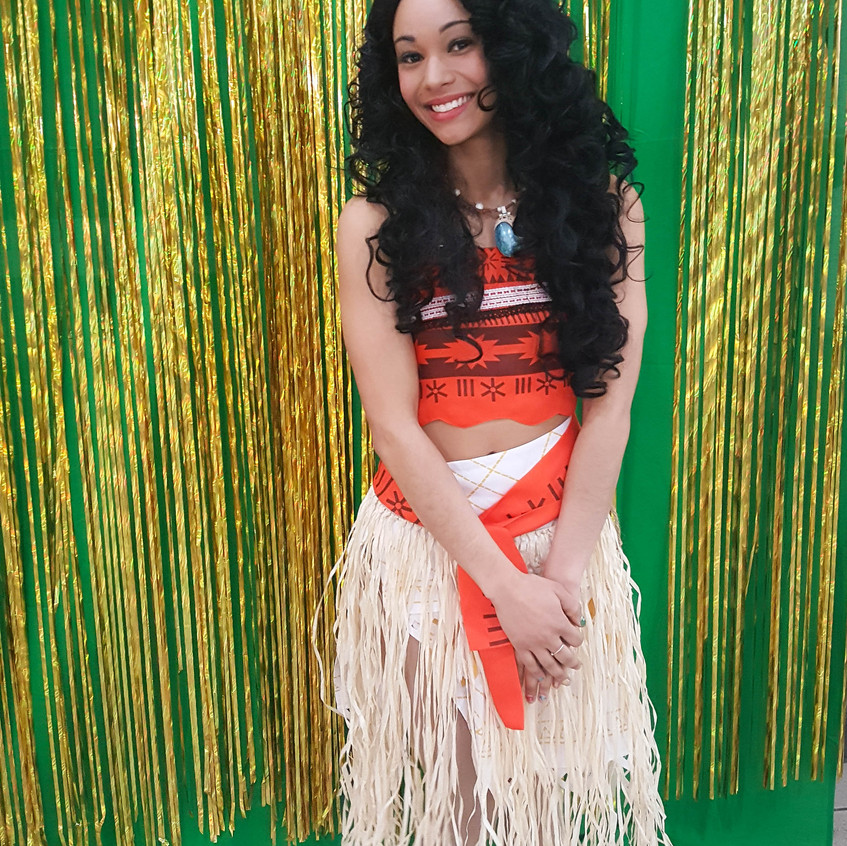 Princess Party with Earth Fairy Entertainment in Portland Oregon, kids,, Hawaiian, corporate Moana impersonator, birthday character