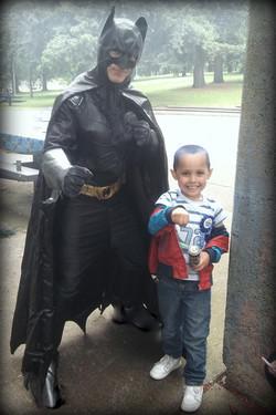 Bat Hero Appearnce by Earth Fairy Entertainment in Portland Oregon, super hero birthday party, Bat M