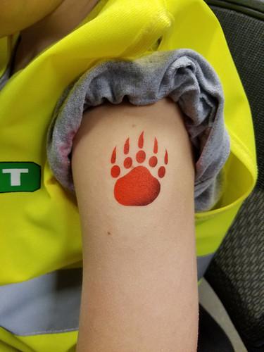 Airbrush Temporary Tattoo by Earth Fairy