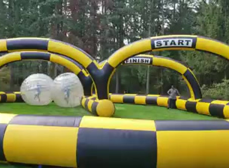 We rent Inflatables