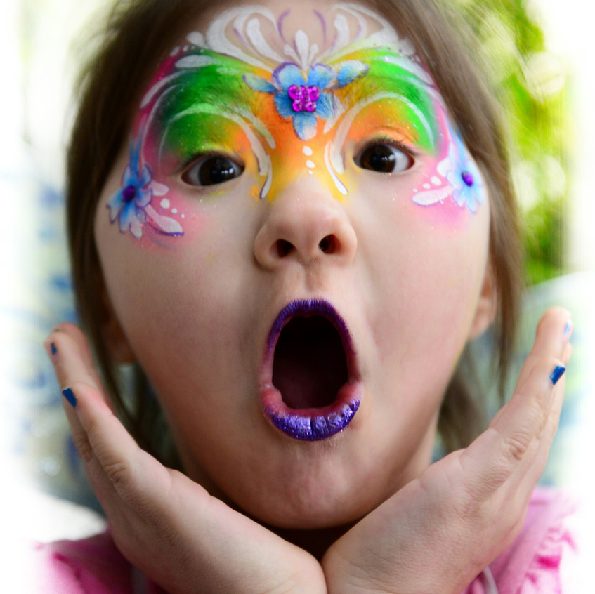 Face painting by Earth Fairy Entertainme
