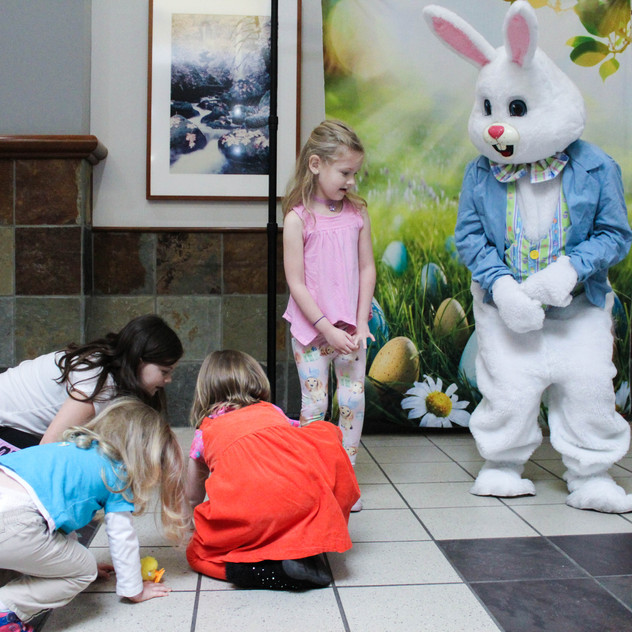 Easter Bunny Rabbit character actor for
