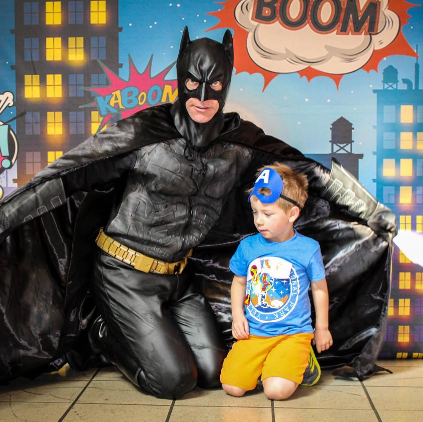 Bat Hero Super Hero Man appearance with