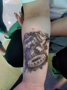 Realistic Temporary Airbrush Tattoos wit