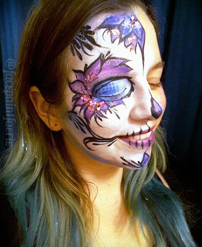 Earth Fairy Face Painter in Portland Ore