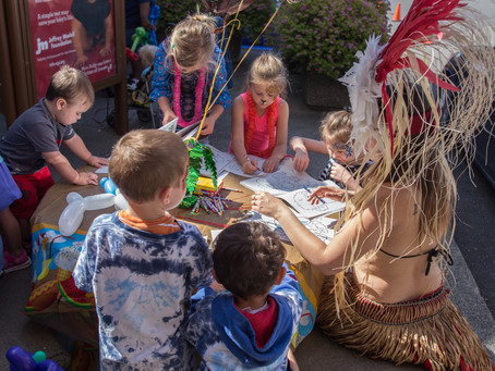 Hawaiian Luau at Columbia Gorge Outlet's Adventure Club