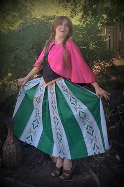 Earth Fairy Entertainment, Frozen look alike, birthday party, corporate entertainers, Portland Orego
