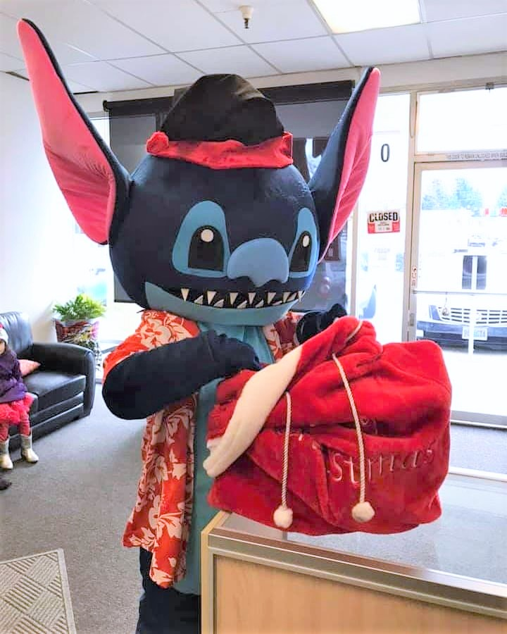Mascot Character Stitch Impersonator loo