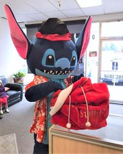 Mascot Character Stitch Impersonator loo