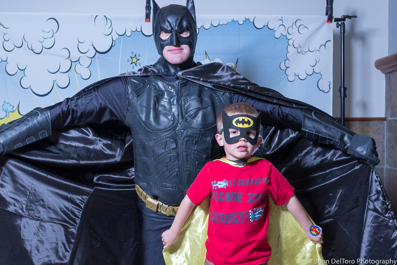 Bat Hero Man costume character appearance by Portland Party Characters in Oregon, kids super hero birthday party, hire professional entertainer, Hillsboro, Vancouver, For