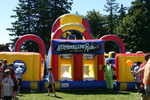 Adrenaline Rush Inflatable Obstacle Cour