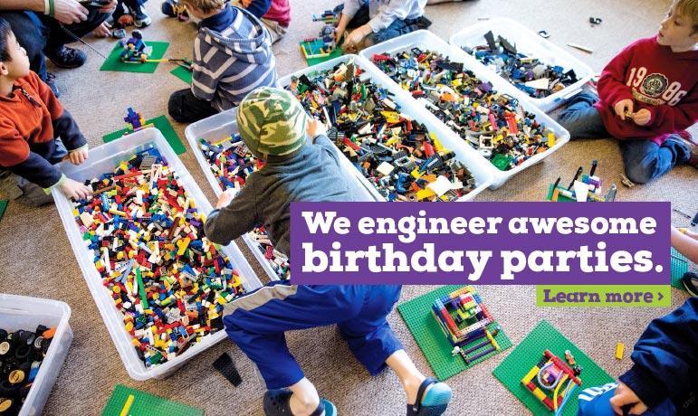 Lego Birthday Party fun or School Activi