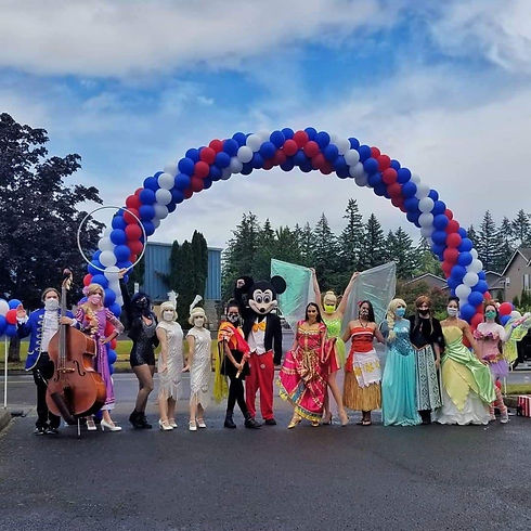 Princess and Super Hero Party Characters