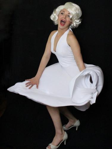 Marilyn Monroe impersonater telegram wit