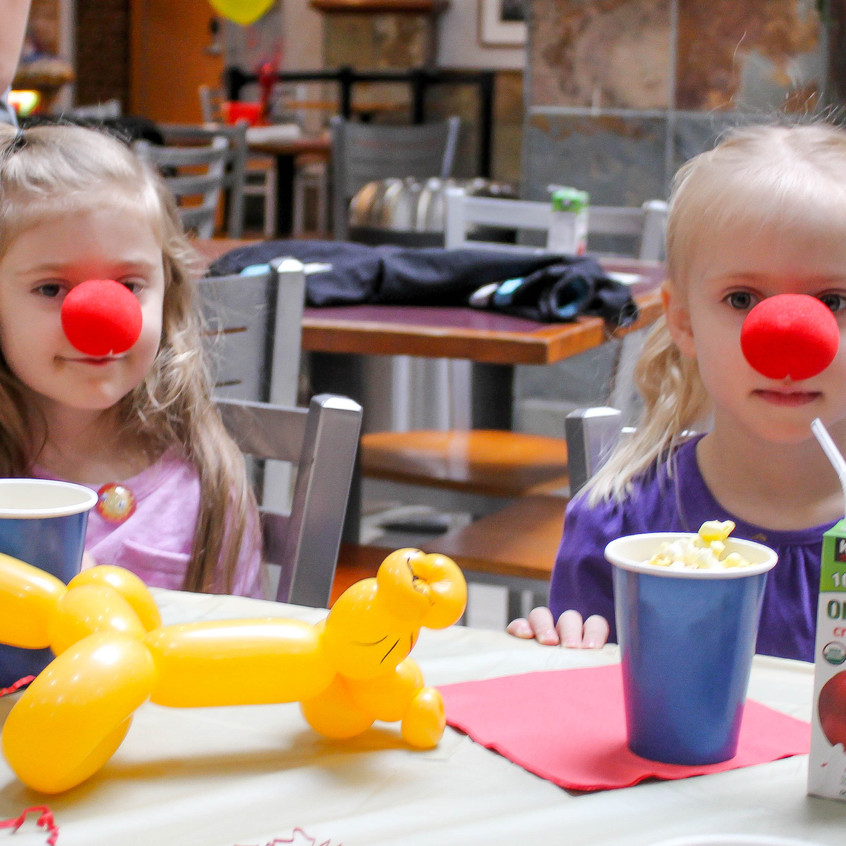 Event planning with earth Fairy Entertainment in Portland Oregon, birthday or corporate, clown, magician, face paint