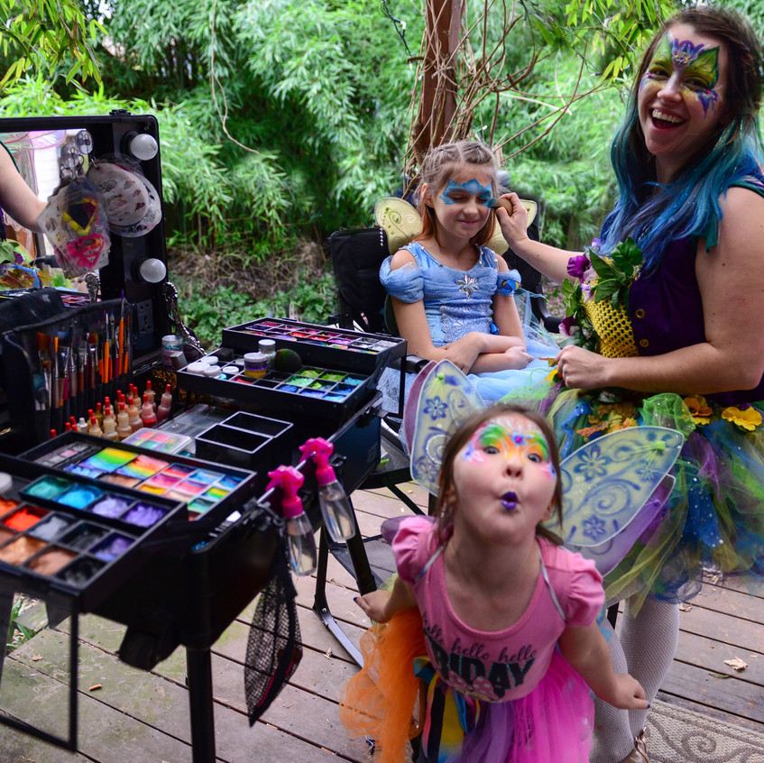 Face Painting in Portland Oregon by Eart