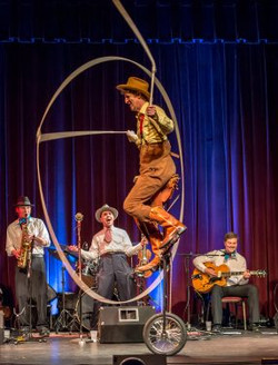 Wild West Variety Staged show for corpor