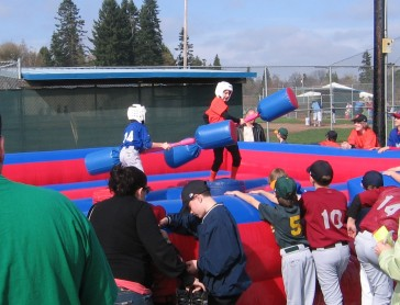 Inflatable Gladiator Joust Game Rental w
