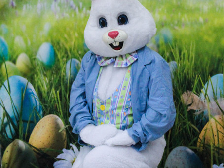 Easter Bunny visits Adventure Club