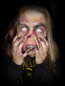 Zombie eyes by Sarah Pearce at Earth Fairy Entertainment, offering professional