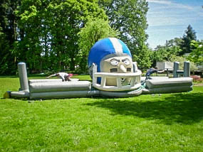 Touchdown Challenge Football Inflatable