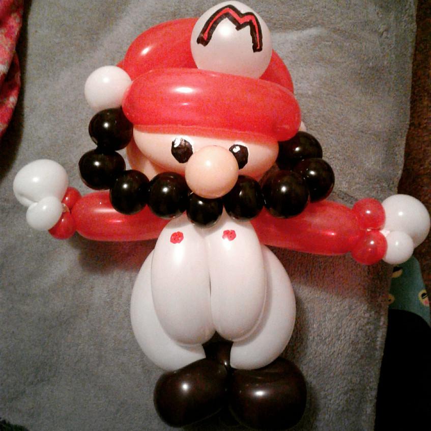 Mario and Luigi, balloon twister in Port