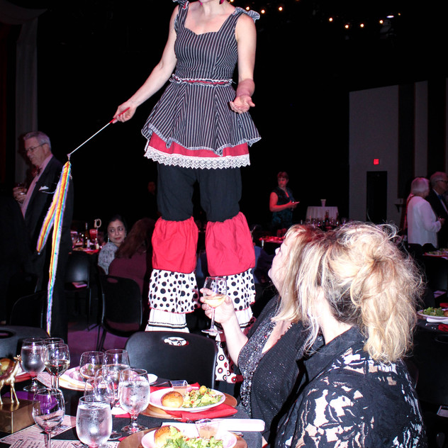 stilt walkers and circus performers with Earth Fairy Entertainment in Portland Oregon, juggler, magician,,