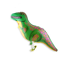 Dinosaur trex pet walking balloons