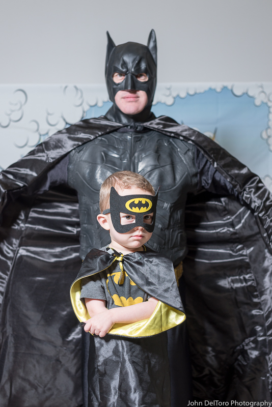 Bat Hero Man costume character appearance by Portland Party Characters in Oregon, kids super hero birthday party, hire professional entertainer, Hillsboro, Vancouver, win