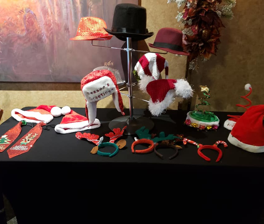 Christmas Holiday Photo Booth with props