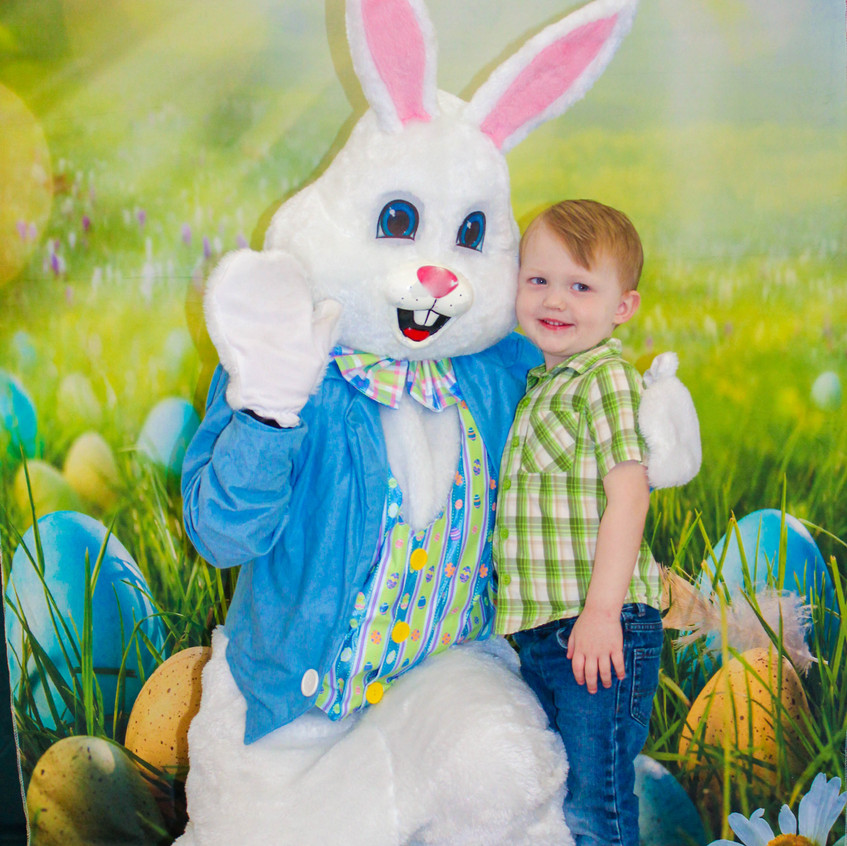 Hire the Easter Bunny to come to your ev