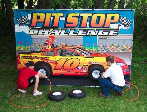 Pit Stop Racing Game in Portland Oregon