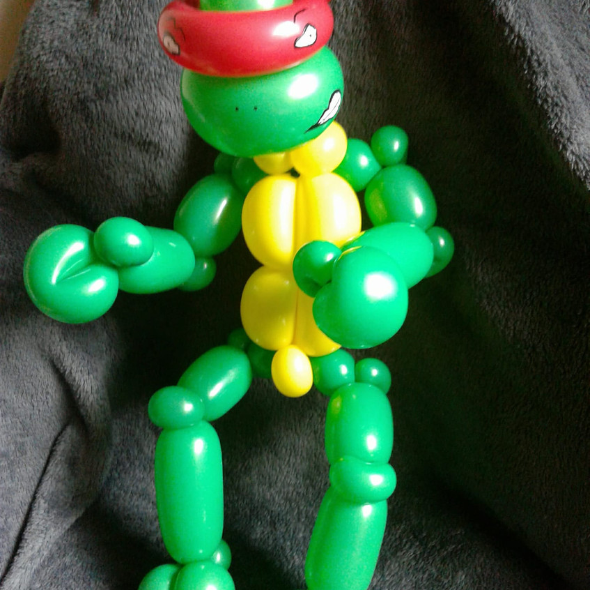 Teenage Mutant Ninja Turtle, balloon twi