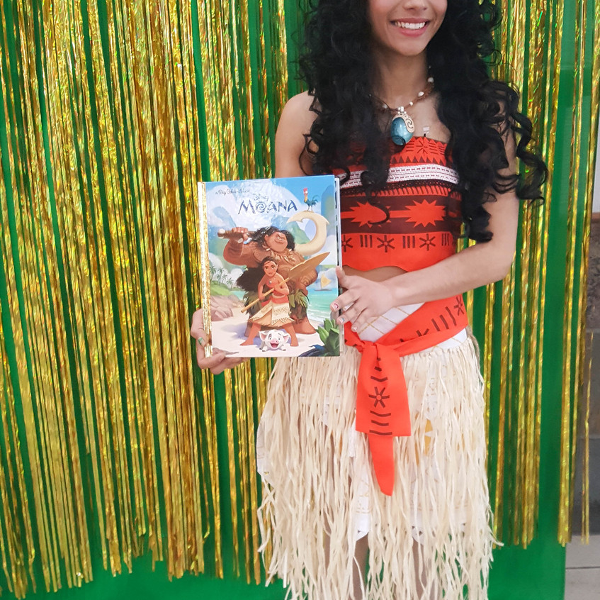 Princess Party with Earth Fairy Entertainment in Portland Oregon, Luaua, children, corporate Moana impersonator, birthday character