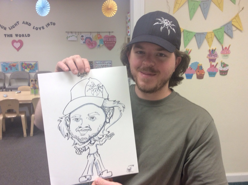 Fast Caricature Artist by Earth Fairy En